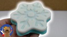 DIY skvělé mýdlo v podobě Ledového království - dárek - jak si sami uděl... Samos, Ice Tray, Silicone Molds, Free, Youtube, Youtubers, Youtube Movies