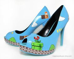 Geek Fashion: High Heels | GeekNation - I have an overwhelming level of need here.