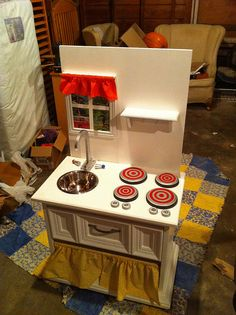 Claire's Nightstand Play Kitchen