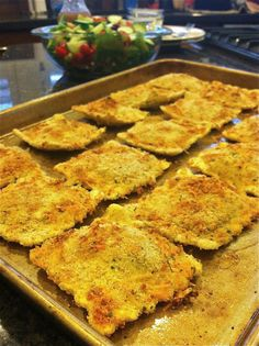 Faux Fried Ravioli. Just as good with no grease! YUM.