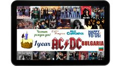 Happy birthday to our facebook page! AC/DC Bulgaria - 1 year!