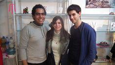 José de jozeextravaganza.blogspot.com.ar, María de bolsosycarterasblog.blogspot.com.ar y Valentín de viavalentino.com.ar #Rodocrosita #Argentina #Joyería #MelinaJoyería #Andalgalá #BsAs