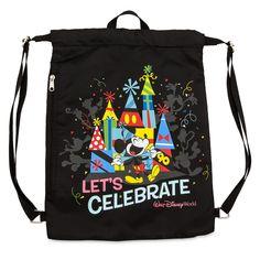 Mickey Mouse ''Celebration of the Mouse'' Cinch Sack - Walt Disney World shopDisney Disney World Vacation, Disney Parks, Walt Disney World, Mickey Shorts, Popular Toys For Boys, Cinch Sack, Hipster Bag, Disney Sketches, Sack Bag