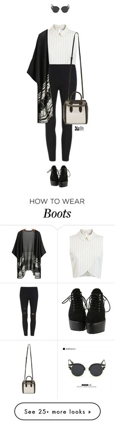 """""""Street style"""" by elly3 on Polyvore featuring Miss Selfridge, KOON and Alexander McQueen"""