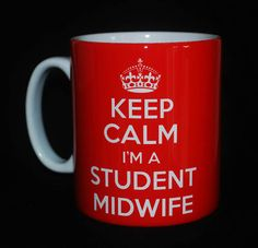 New Keep Calm I'M A Student Midwife Gift Mug Cup Carry on Retro Present Fun | eBay