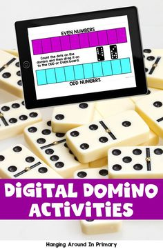 Why not try Digital Morning Work?  Your kindergarten and first grade students will practice math skills like addition and comparing and ordering while playing using dominoes and they won't even realize they are doing math! This Google Slides digital resource is perfect for assigning in Google Classroom or to use as a math center in the classroom. #morningwork #morningtubs #mathtubideasforfirstgrade #mathcentersforfirstgrade #mathwithdominos #firstgrademorningwork Teaching First Grade, Teaching Math, Math Classroom, Google Classroom, Activity Centers, Math Centers, Primary Maths, Teacher Inspiration, Hands On Learning