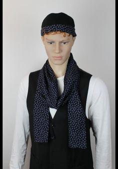 """Modell: """"Vision""""  Herstellungsart: veredelte Docker-Caps, genähte Unikate, handmade in Germany #hamburg # designer #bemadie #madiefashion #fashionably #fashion #schal #schals #seianders #trendsetter #set #trends"""