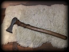 Viking Axe made from old metal