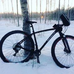 Rokua MTB. Mountainbiking in Finland, Oulu.