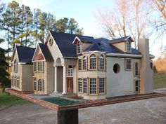 a bird house mansion!!