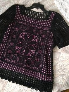 crochet top plus size summer beach top cotton beachwear . tops, top, tunic, blouses and shirts . Col Crochet, Crochet Crop Top, Crochet Blouse, Black Mesh Top, Black Lace Tops, Lace Crop Tops, Girl Dress Patterns, Coat Patterns, Blouse Patterns