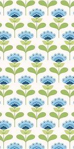 Tilda fabric, Molly blue.