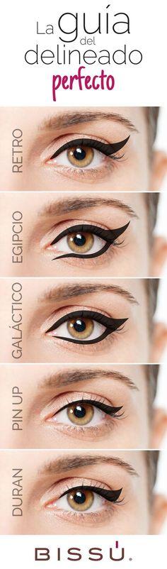 Reinventa el estilo de tu delineado. http://tiendaweb.bissu.com/ojos/: