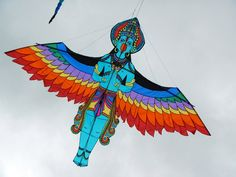 a beauty from India, Normandie Kite festival