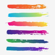 Creative Abstract Colorful Brush Stroke Vector Brush Vector and PNG Watercolor Splatter, Easy Watercolor, Watercolor Texture, Watercolor Brushes, Brush Stroke Tattoo, Brush Stroke Vector, Paint Vector, Vector Art, Brush Effect