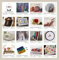 My Etsy Picks: Needle Arts by Katie Crafts - Crafting, Sewing, Recipes and More! http://katiecrafts.com