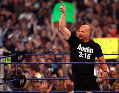 Texas Rattlesnake (WHAT?) Stone Cold Steve Austin! WHAT? And that's the bottom line (WHAT?) 'cause Stone Cold said so!