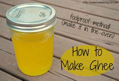Ghee is not know to much of America, but it is a staple in many healing diets. Learn how to make ghee for a fraction of the cost of buying it in store!