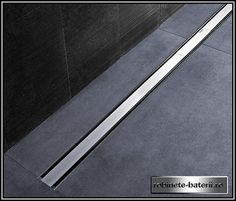 Available in length size of or the Geberit Shower Channel comes in two finish options. In-stock at Victorian Plumbing.