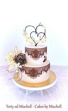 Wedding cake by Mischell - http://cakesdecor.com/cakes/283261-wedding-cake