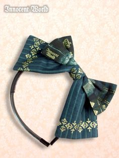 WTB: Innocent World Royal Library headbow in green