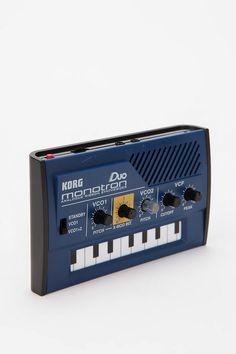 KORG Monotron Duo Portable Analog Synthesizer #UrbanOutfitters