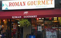 "Roman Gourmet - Ultimate ""Jersey - Style"" Pizza 153 Maplewood Avenue 973 | 762 | 4288 romangourmetmenu.com"