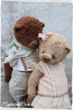 Teddy Bears - love))) by By Moshkina Elena   Bear Pile