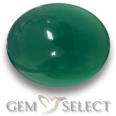 GemSelect features this natural Agate from India. This Green Agate weighs 2.8ct and measures 9.5 x 7.7mm in size. More Oval Cabochon Agate is available on gemselect.com #birthstones #healing #jewelrystone #loosegemstones #buygems #gemstonelover #naturalgemstone #coloredgemstones #gemstones #gem #gems #gemselect #sale #shopping #gemshopping #naturalagate #agate #greenagate #ovalgem #ovalgems #greengem #green