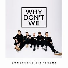 Hope you're ready.. #SOMETHINGDIFFERENT • April 7th @whydontwemusic