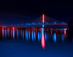 Skyway Bridge- Toledo, Ohio; Love going 280 just for this bridge...Its really cool :D