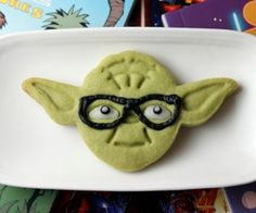 Celebrate STAR WARS Reads Day with These Green Tea Yoda Cookies