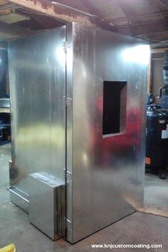 Learn how to build this powder coating oven now: http://www.powdercoatguide.com/2014/09/how-to-build-powder-coating-oven.html#.V9-TO621iW9