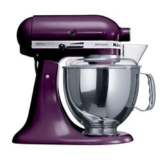 KA Stand Mixer Boysenberry - If I ever buy a second mixer..this is the color, gorgeous!