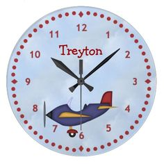 Little Blue Airplane Wall Clock In our offer link above you will seeDiscount Deals          Little Blue Airplane Wall Clock Review from Associated Store with this Deal...