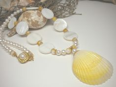 seashell jewelry - Google Search