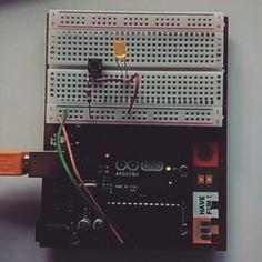 Arduino Test 1 #arduino #led #button by emilyhrodders