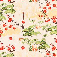 070. Chiyogami papír
