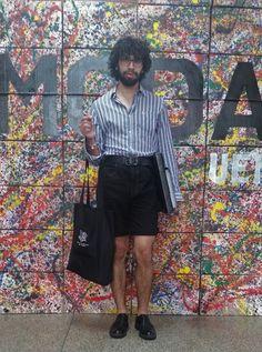 Tecidoteca UEM: Estilo UEM: Bruno Azevedo e seu estilo minimalista
