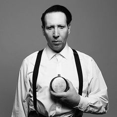 marilyn manson by tyler shields