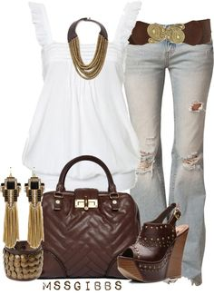 """""""Casual Wear"""" by mssgibbs on Polyvore"""