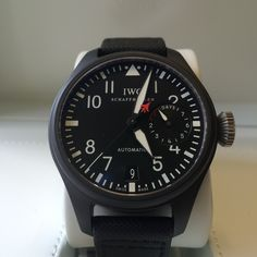 #TopGun The IWC Big Pilot now in stock http://www.globalwatchshop.co.uk/iwc-big-pilot-top-gun-iw501901.html?utm_content=buffer916b0&utm_medium=social&utm_source=pinterest.com&utm_campaign=buffer More in store - Click for details