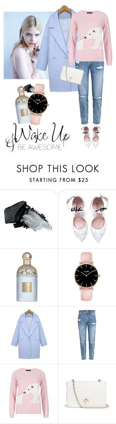 """Be awesome!"" by lera-chyzh ❤ liked on Polyvore featuring Gorgeous Cosmetics, Guerlain, H&M, M&S Collection and Tory Burch"