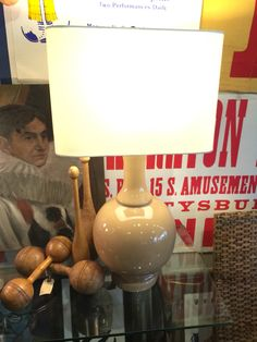 Pair of lamps for the Master or either side of the dining banquette.