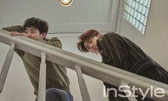 2PM Taecyeon & Nichkhun InStyle Magazine March 2016