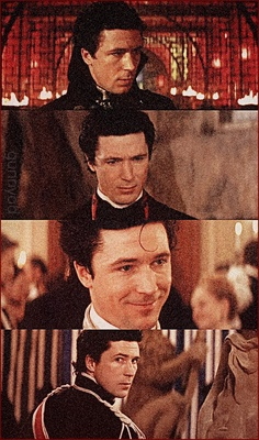 Aidan Gillen as Nelson Rathbone - first character I knew and made me fall in love with him :)