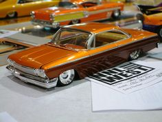 AMT Chevy Bel Air Model. Great paint and foil work.