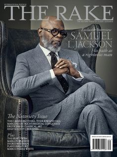 rakehound:Welcome to the Notoriety Issue, starring Samuel L. Jackson and his path as a righteous man… Available on news stands now.therakeonline.com