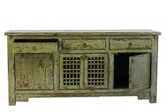 great rustic looking sideboard for dining room storage