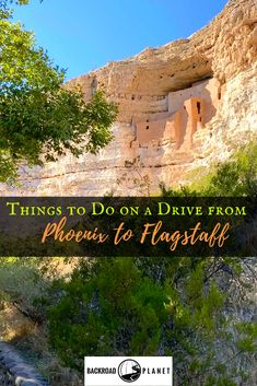 Two national monuments, an experimental town, a legendary pie café, and more attractions to make your drive from Phoenix to Flagstaff, Arizona, an adventure. #travel #TBIN #VisitArizona via @backroadplanet